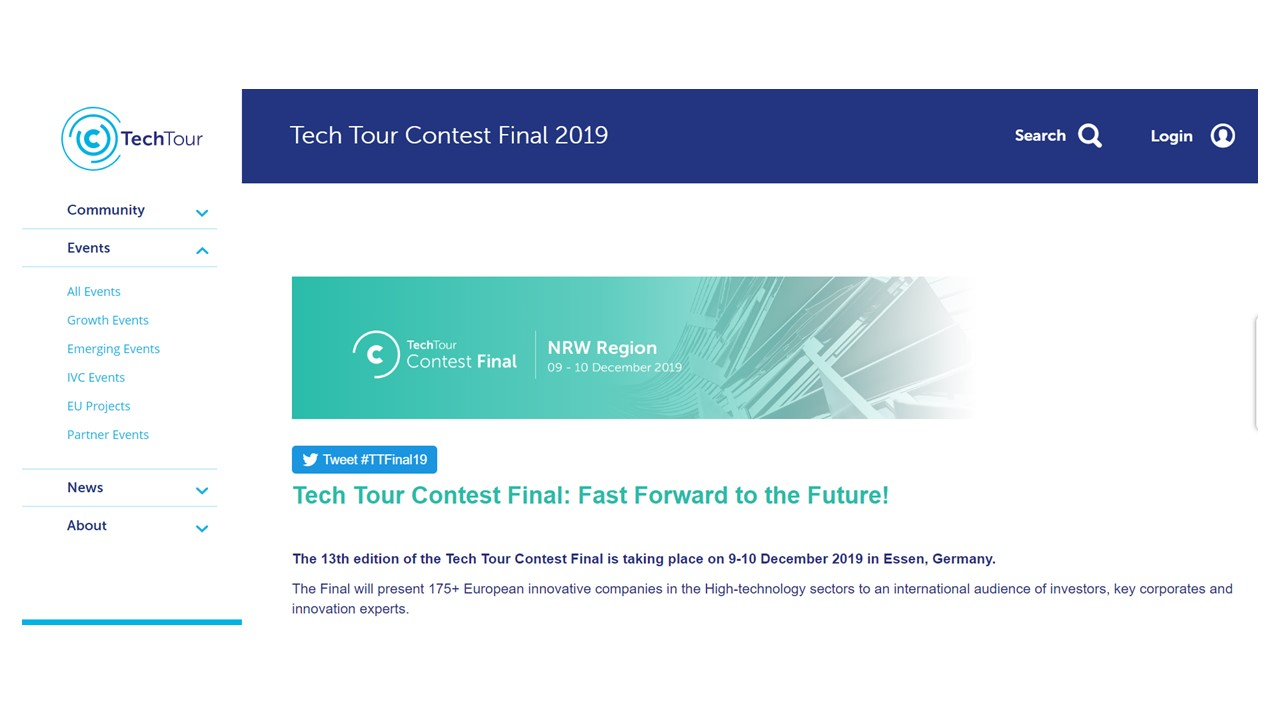 Tech Tour Contest Final 2019