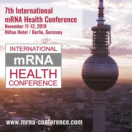 Aromics at 7th mRNA Health Conference in Berlin
